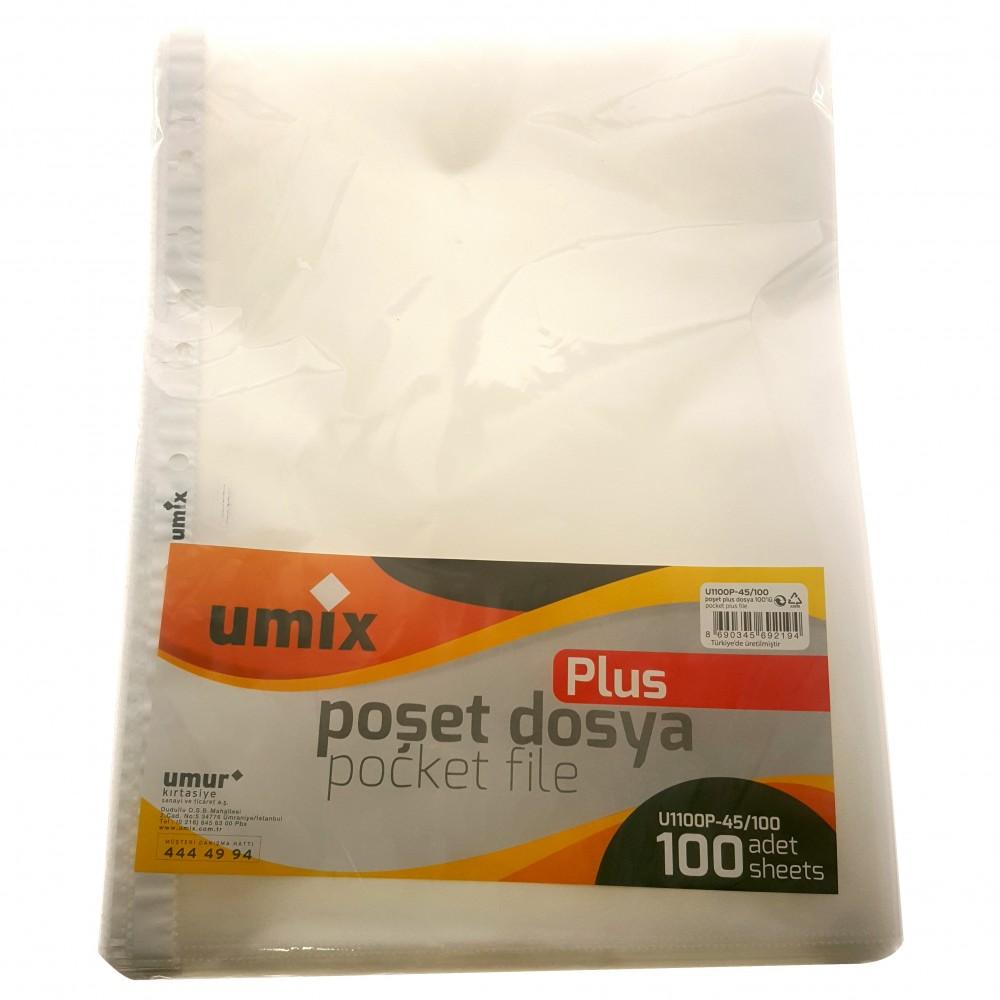 UMİX POŞET DOSYA U100P-100