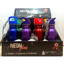 NEON PLUS 2-C 500 ML ÇELİK MATARA 7004 *12